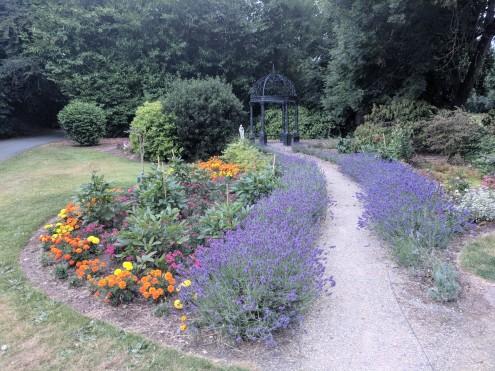 Beautiful front garden