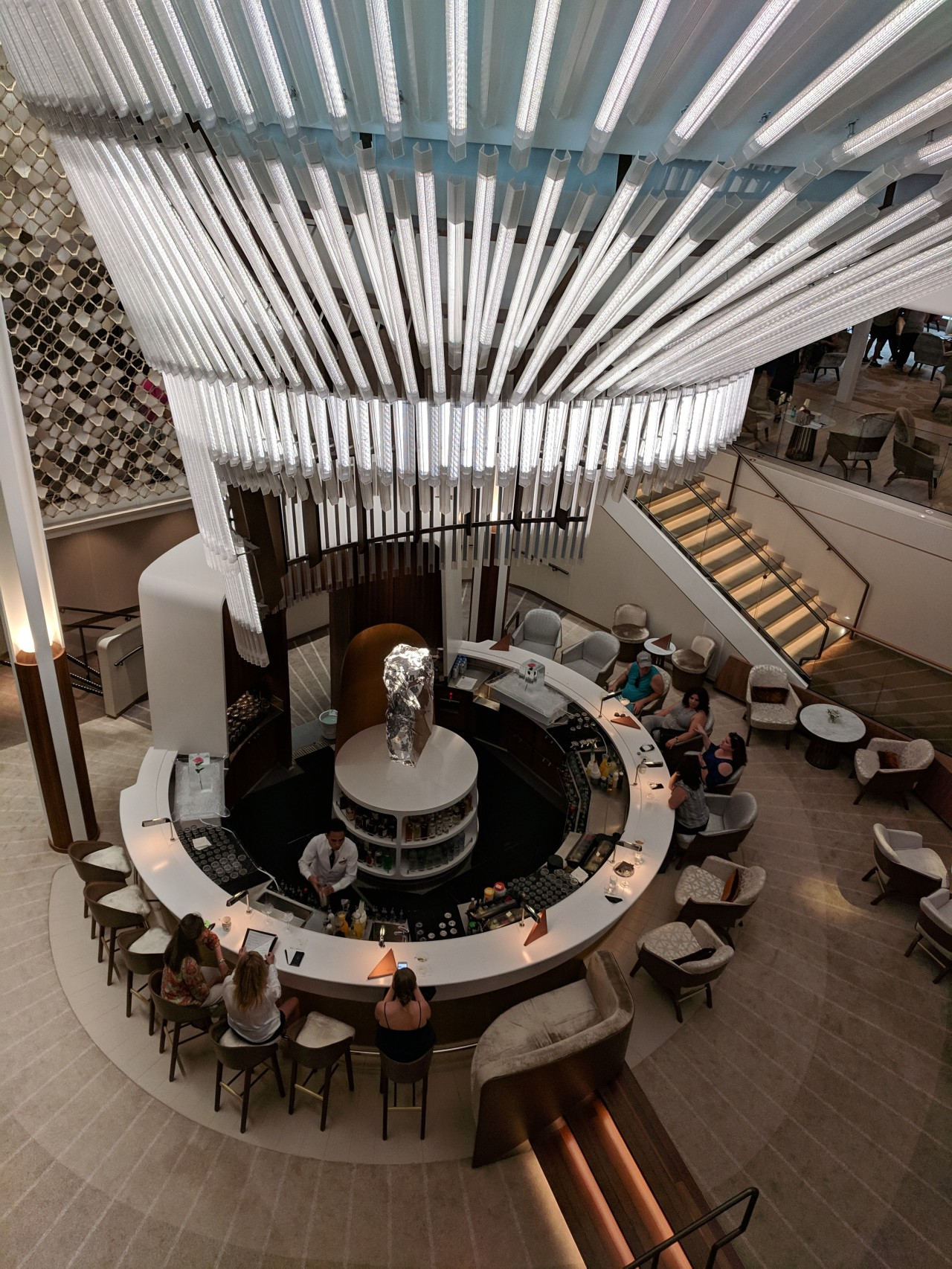 The UnCommon Common Areas of Celebrity Edge
