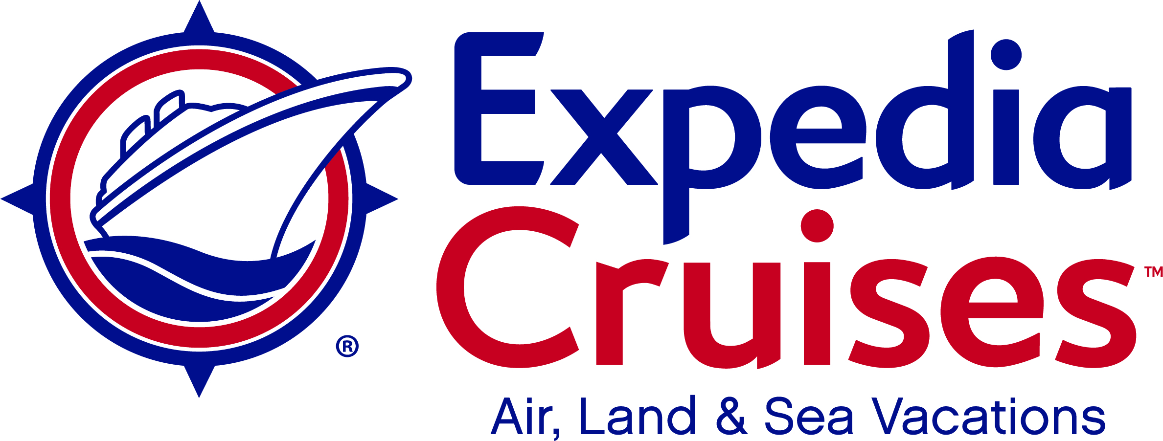 Expedia Cruises Color Vertical Logo